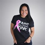 PAINT THE LANES PINK TEE
