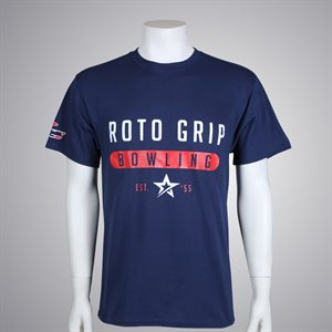 ROTO GRIP BOWLING TEE NAVY