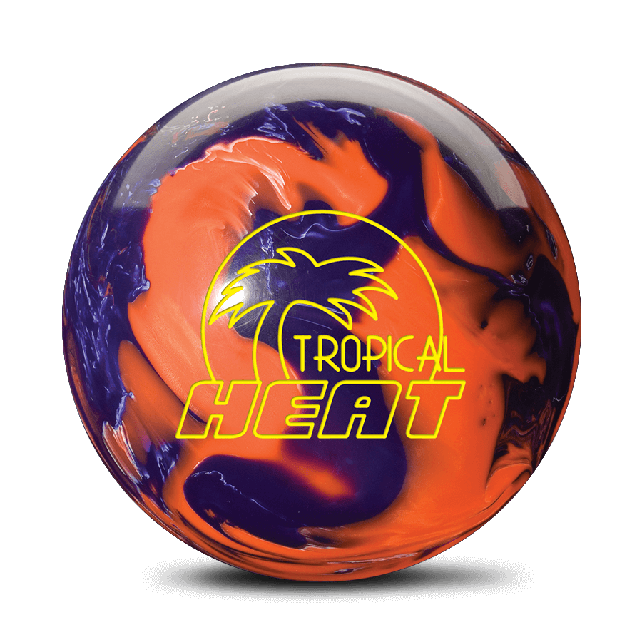Tropical Heat - Orange / Purple