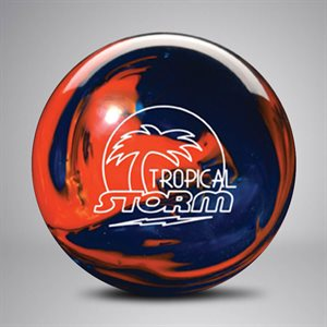 Tropical Storm - Orange / Navy